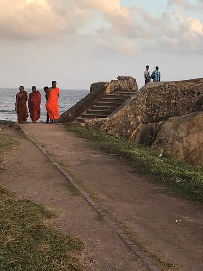 Sir Lanka Galle - safe in the fort